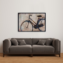 Framed 24 x 36 - Industrial bicycle
