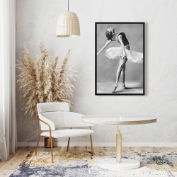 Framed 24 x 36 - Classic ballet dancer