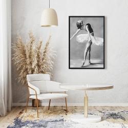 Framed 24 x 36 - Classic ballet dancer