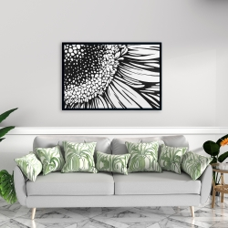 Framed 24 x 36 - Gerbera flower