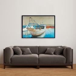 Encadré 24 x 36 - Bateau de pêche