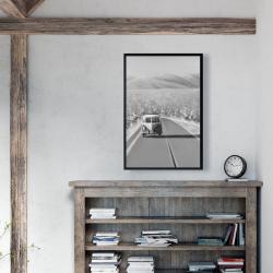Framed 24 x 36 - Car on the road again