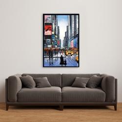 Framed 24 x 36 - Peak hour