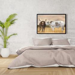 Framed 24 x 36 - Nguni herd
