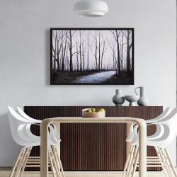 Framed 24 x 36 - Sad forest