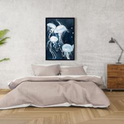 Framed 24 x 36 - Medusa
