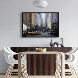 Framed 24 x 36 - In the city