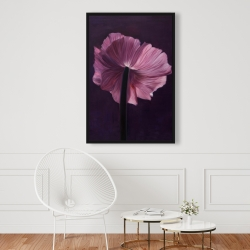Framed 24 x 36 - Purple petals