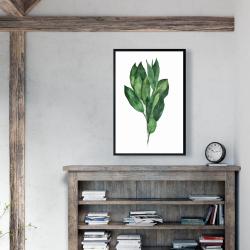 Framed 24 x 36 - Bay leaves bundle