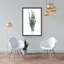 Framed 24 x 36 - Thyme leaves bundle - fr
