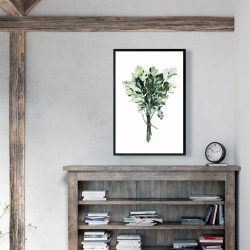Framed 24 x 36 - Tied up persil bundle