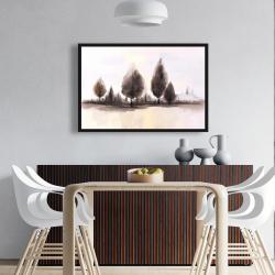 Framed 24 x 36 - Landscape of trees