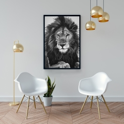 Framed 24 x 36 - The lion king