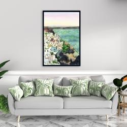 Framed 24 x 36 - Landscape of crete