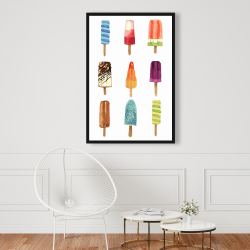 Framed 24 x 36 - Iced lollipop