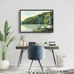 Framed 24 x 36 - Sailboat day