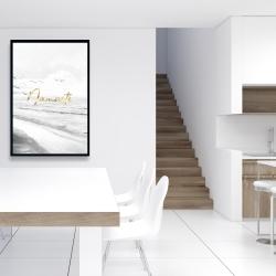 Framed 24 x 36 - Namaste
