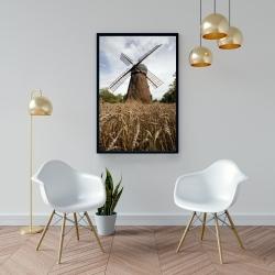 Framed 24 x 36 - Windmill