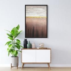 Framed 24 x 36 - Golden pink