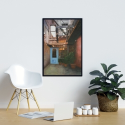 Framed 24 x 36 - Cozy little place
