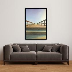 Framed 24 x 36 - Footbridge