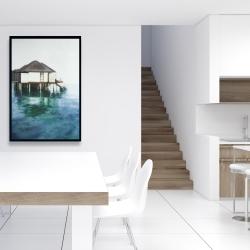 Framed 24 x 36 - Dream travel