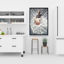 Framed 24 x 36 - Ballerina