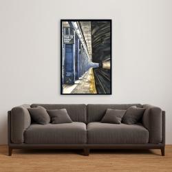 Framed 24 x 36 - New-york subway