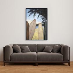 Framed 24 x 36 - Surfboards
