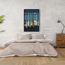 Framed 24 x 36 - Paddles