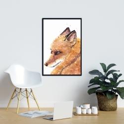 Framed 24 x 36 - Fox