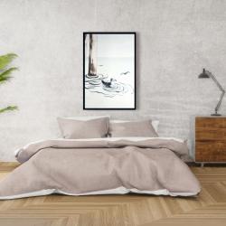 Framed 24 x 36 - Seagull