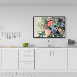 Framed 24 x 36 - Flowers melody