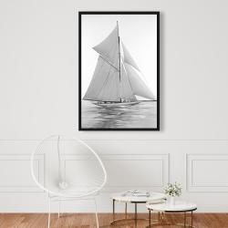 Framed 24 x 36 - Sailing ship