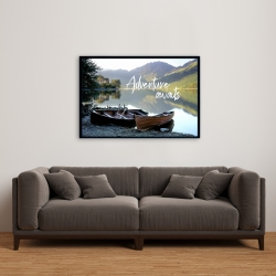 Framed 24 x 36 - Adventure awaits