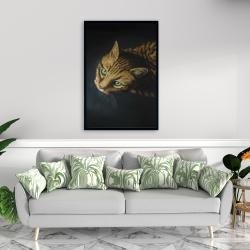 Framed 24 x 36 - Bengal cat