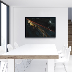 Framed 24 x 36 - Downtown