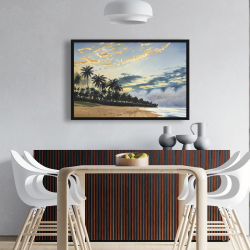 Framed 24 x 36 - Tropical summer moments