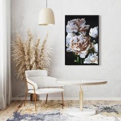 Framed 24 x 36 - Peonies