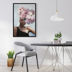 Framed 24 x 36 - See life in flowers