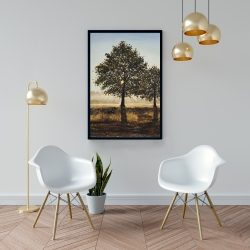 Framed 24 x 36 - Trees in the countryside