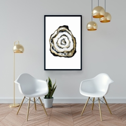 Framed 24 x 36 - Golden agate