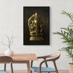 Framed 24 x 36 - Lord ganesha