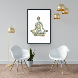 Framed 24 x 36 - Zen attitude
