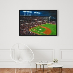 Framed 24 x 36 - Baseball game