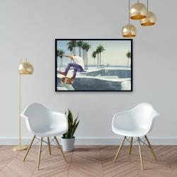 Framed 24 x 36 - Skate park california