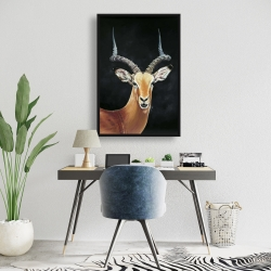 Framed 24 x 36 - Antelope