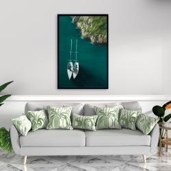 Framed 24 x 36 - Smooth sailing