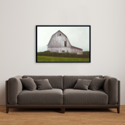 Framed 24 x 36 - Rustic barn