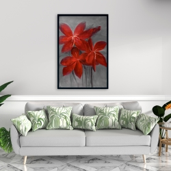 Framed 24 x 36 - Asiatic lily